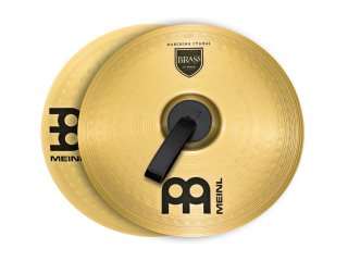 """Meinl 18"""" Student Range Marching Cymbals Brass (Pair) on RigShare"""
