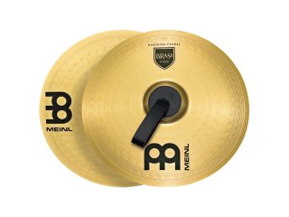 """Meinl 16"""" Student Range Marching Cymbals Brass (Pair) on RigShare"""