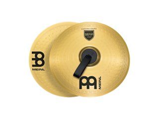 """Meinl 14"""" Student Range Marching Cymbals Brass (Pair) on RigShare"""