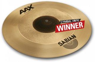 "Sabian Cymbals 18"" AAX Freq Crash on RigShare"