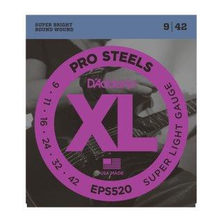 D'Addario EPS520 ProSteels, Super Light, 09-42 on RigShare
