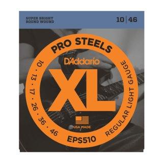 D'Addario EPS510 ProSteels, Regular Light, 10-46 on RigShare