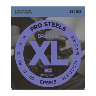 D'Addario EPS515 ProSteels, Medium, 11-50 on RigShare
