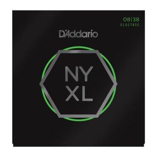 D'Addario NYXL0838 Nickel Wound, Extra Super Light, 08-38 on RigShare