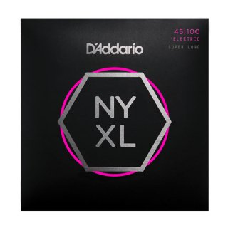 D'Addario NYXL45100SL, Set Super Long Scale, Regular Light, 45-100 on RigShare