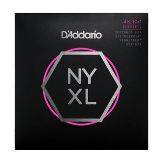 D'Addario NYXLS45100, Set Long Scale, Regular Light, Double Ball End, 45-100 on RigShare