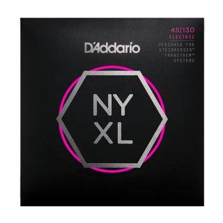 D'Addario NYXLS45130, Set Long Scale, Regular Light 5-String, Double Ball End, 45-130 on RigShare