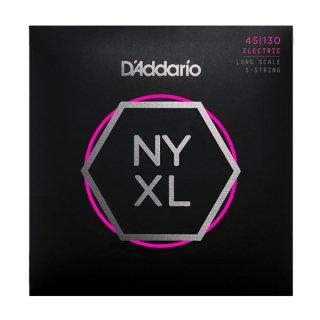 D'Addario NYXL45130, Set Long Scale, Regular Light 5-String, 45-130 on RigShare