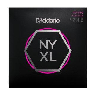 D'Addario NYXL45130SL, Set Super Long Scale, Regular Light 5-String, 45-130 on RigShare