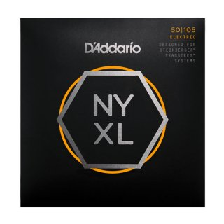 D'Addario NYXLS50105, Set Long Scale, Medium, Double Ball End, 50-105 on RigShare