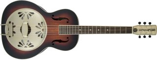 Gretsch G9241 Alligatort Biscuit Round-Neck Acoustic / Electric Resonator Guitar on RigShare