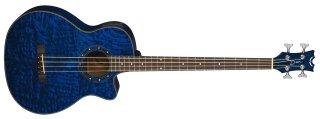 Dean Guitars Exotica Quilt Ash A/E Bass TBL on RigShare