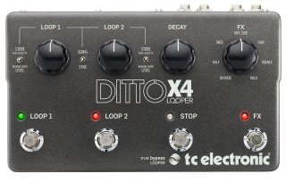 TC Electronic Ditto X4 Looper on RigShare