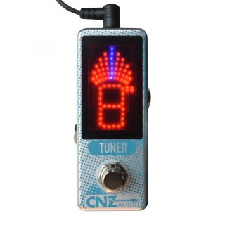 CNZ Audio Tuner - LED Chromatic Pedal Tuner Guitar Effects Pedal on RigShare