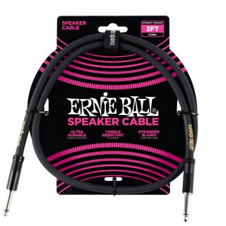 Ernie Ball 3' Straight / Straight Speaker Cable on RigShare