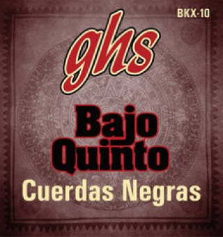 GHS Strings Black Coated Stainless Steel Bajo Quinto on RigShare