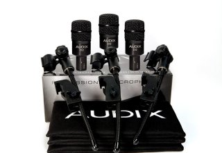 Audix Microphones D2 Trio on RigShare
