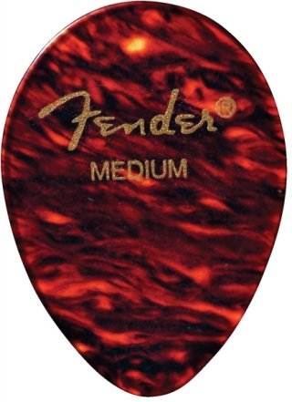 Fender 354 Shape Classic Celluloid Picks - 12 Count on RigShare