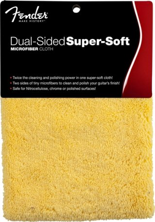 Fender Dual-Sided Super-Soft Microfiber Cloth on RigShare