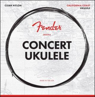 Fender California Coast Concert Ukulele Strings on RigShare