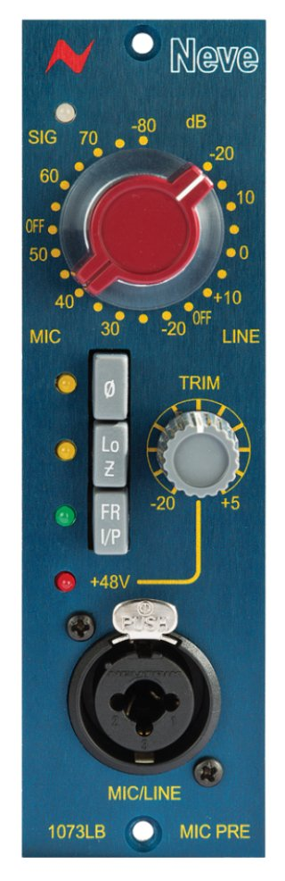 AMS Neve 1073LB Mono Mic Preamp module on RigShare