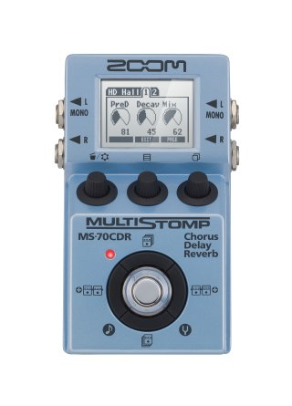 Zoom MS-70CDR MultiStomp Chorus / Delay / Reverb Pedal on RigShare