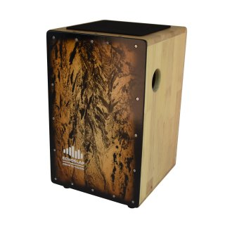 CNZ Audio Solid Body Bass Cajon - Smoke on RigShare