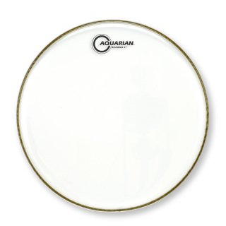 """Aquarian 18"""" Response 2 Bass Drumhead Clear on RigShare"""
