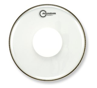 """Aquarian 18"""" Response 2 Clear Bass Drumhead With Power Dot on RigShare"""