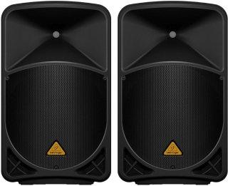 """Behringer B115D Eurolive Powered Speaker (1000 Watts, 1X15""""), Pair on RigShare"""