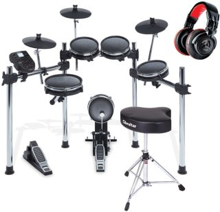 Alesis Surge Mesh Electronic Drum Kit, With Drum Throne And Headphones on RigShare