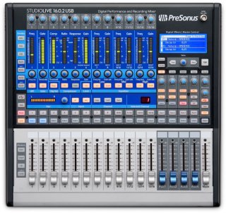 PreSonus Studiolive 16.0.2 Usb Digital Mixer, 16-Channel on RigShare