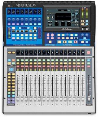 PreSonus Studiolive 16 Series III Digital Mixer/recorder, 16-Channel on RigShare