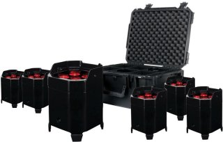 American DJ Element Hex Stage Light Pak 6 Lights (With Case) on RigShare
