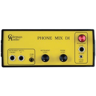 Coleman Audio Phone Mix DI on RigShare