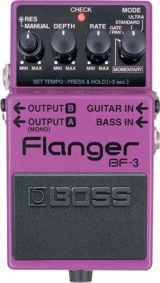 Boss BF-3 Flanger on RigShare