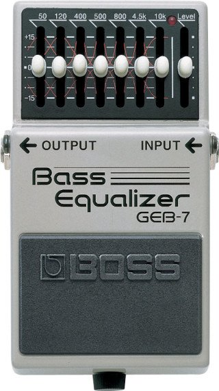 Boss GEB-7 Bass Equalizer on RigShare