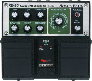 Boss RE-20 Space Echo on RigShare