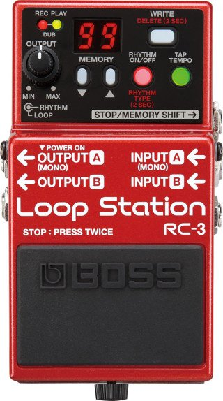 Boss RC-3 Loop Station on RigShare
