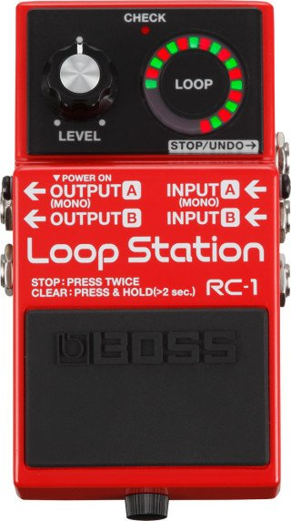 Boss RC-1 Loop Station on RigShare