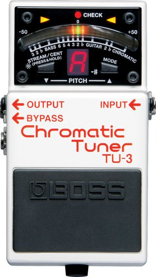 Boss TU-3 Chromatic Tuner on RigShare