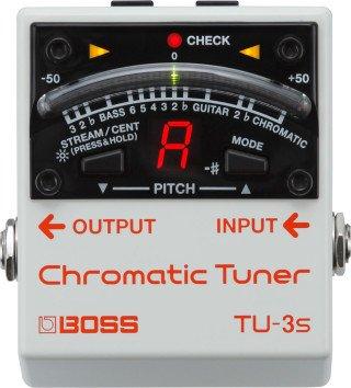 Boss TU-3S Chromatic Tuner on RigShare