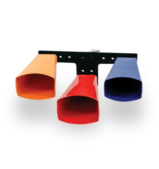 Latin Percussion Giovanni Signaure 3-Bell Set, Large, Colored on RigShare
