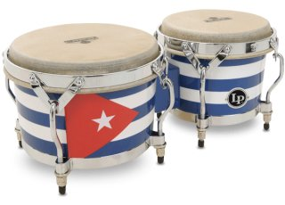 Latin Percussion Matador® Cuban Heritage Wood Bongo on RigShare
