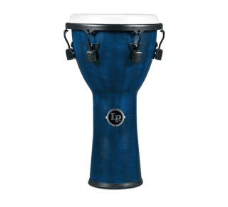 """Latin Percussion World Beat Fx 11"""" Mechanical Djembe Blue on RigShare"""