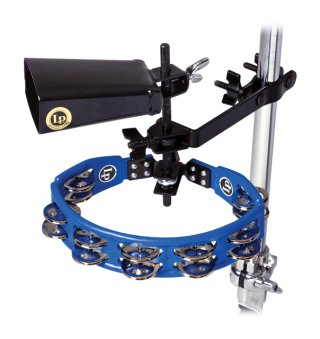 Latin Percussion Cyclops Tambourine/cowbell With Mount Pack on RigShare