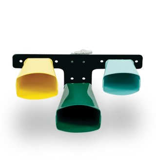 Latin Percussion Giovanni Signaure 3-Bell Set, Small, Colored on RigShare