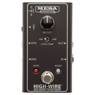 Mesa Boogie Amps High-Wire™ Dual Buffer & Output Boost on RigShare