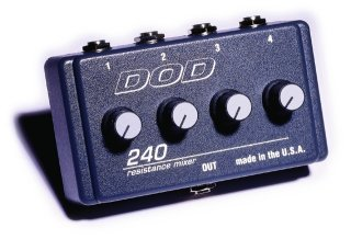 DOD Pedals AC 240 on RigShare