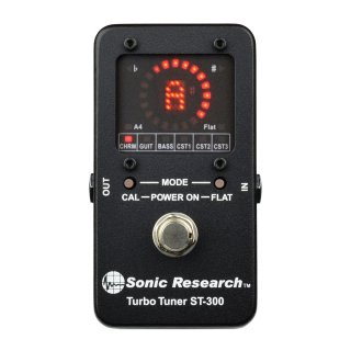 Sonic Research ST-300 Stomp Box Strobe Tuner on RigShare